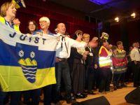 Bild 0 von Juister übernahmen die Insulaner unner sück-Flagge