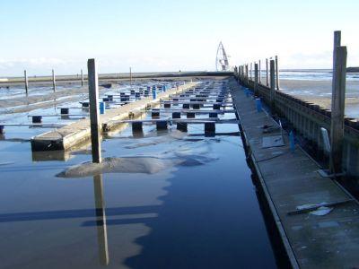 Bild 0 von SKJ-Hafen wird zu Ostern noch nicht befahrbar sein