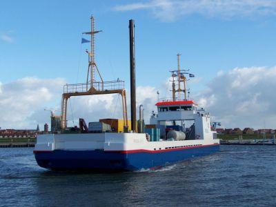 Bild 0 von Anpassung des Frachtfahrplans zur Insel Juist ab Mitte Mai