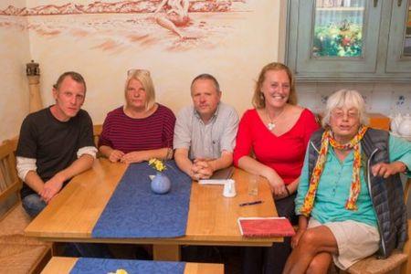 Bild 0 von Grüne bekamen Besuch von der Insel Norderney