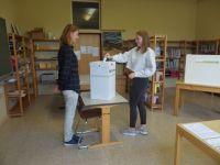 Bild 1 von Juister Schülerinnen und Schüler waren im Wahlfieber