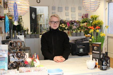 Bild 0 von Ehemalige Bäckerei Habbinga wurde jetzt zum Blumenmeer