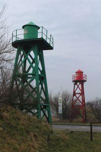 Bild 0 von Die alten Türme der Norddeicher Hafeneinfahrt gibt es immer noch