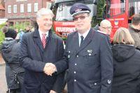 Bild 0 von Juister Feuerwehr nahm in neues Zugpferd in Betrieb