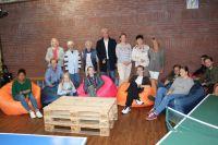 Bild 0 von CDU-Frauen spendeten Sitzsäcke für Juister Jugendliche