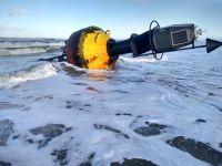 Bild 2 von Auch in diesem Winter gibt es wieder eine Tonne auf dem Strand