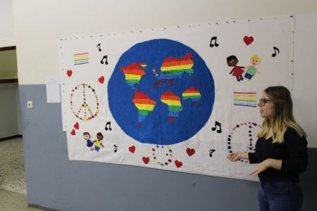 Bild 0 von Große Kreativität bei Nachwuchskünstlerinnen an der Inselschule