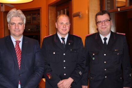 Bild 0 von Neue Amtsperiode vom stellvertretenden Gemeindebrandmeister beginnt