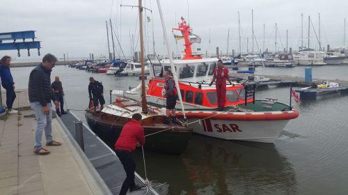 Bild 0 von Wassereinbruch auf Baltrumer Segelboot vor Juist