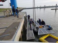 Bild 2 von Der Bootshafen vom SKJ ist bereit für die Baggerarbeiten