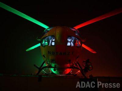 Bild 0 von Verbesserungen bei Nachteinsätzen mit ADAC-Hubschrauber