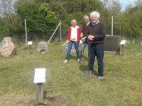 Bild 0 von Erinnerungsgrabstätte am Dünenfriedhof wurde fertig gestellt