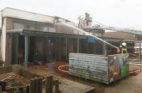 Bild 3 von Feuer bei der Jugendbildungsstätte ließ Dach einstürzen