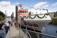 Bild 0 von Neuer Seenotrettungskreuzer für Borkum wurde getauft