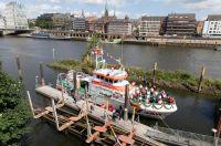 Bild 1 von Neuer Seenotrettungskreuzer für Borkum wurde getauft