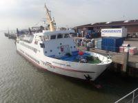 Bild 0 von Seltener Gast am Samstag im Juister Hafen