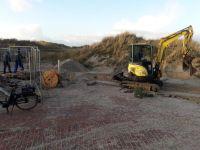 Bild 0 von Winterzeit ist Bauzeit: Inselgemeinde arbeitet am Sturmklausengelände