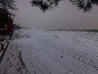Bild 4 von Endlich fiel auf Juist mal wieder Schnee