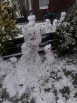 Bild 8 von Endlich fiel auf Juist mal wieder Schnee
