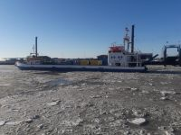 Bild 1 von Noch läuft der Schiffsverkehr nach Juist