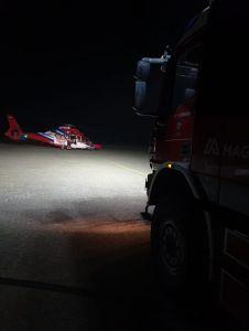 Bild 0 von Erneute Hilfeleistung bei Hubschrauberlandung