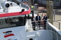 """Bild 5 von Reederei Frisia führt Testfahren mit Katamaran """"Adler Rüm Hart"""" durch"""