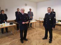 Bild 0 von Wilhelm Arneke ist 70 Jahre Mitglied in der Juister Feuerwehr