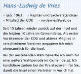 Bild 9 von Ratskandidaten der CDU Juist - Teil 2