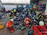 Bild 1 von Feuerwehr Juist war zur Technische Hilfeleistung am Hafen
