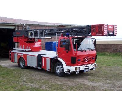 Bild 0 von Freiwillige Feuerwehr bekommt neues Drehleiterfahrzeug