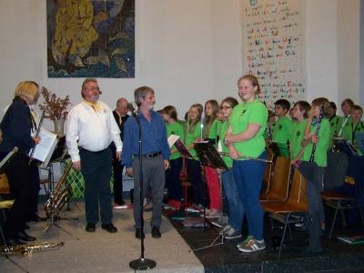 Bild 0 von Blasmusik in der Inselkirche begeisterte Publikum
