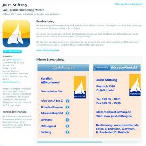 Bild 0 von Juist-Stiftung informiert mit eigener iPhone-App