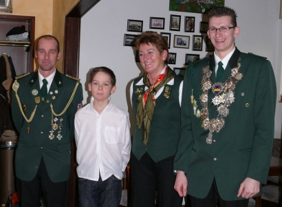 Bild 0 von Nach langen Jahren hat der Schützenverein auch wieder einen Jugend-Vereinsmeister