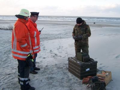 Bild 0 von Marinemunition wurde am Loogster Strand gesprengt
