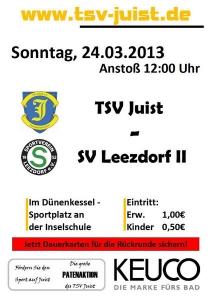 Bild 0 von TSV Juist - SV Leezdorf 2