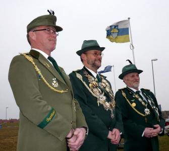 Bild 0 von Der Schützenverein Juist hat ein neues Königshaus
