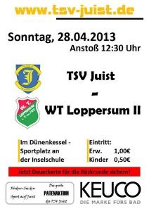 Bild 0 von TSV Juist - WT Loppersum II fällt aus