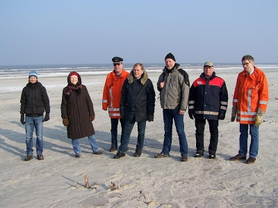 Bild 0 von Umweltstaatssekretärin informierte sich über Dünenabbrüche