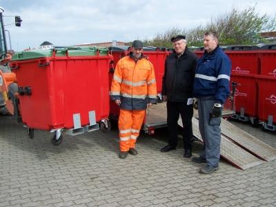 Bild 0 von Auch auf Juist kommen neue Abfallbehälter zum Einsatz