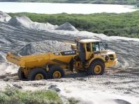 Bild 5 von Sandtransporte am Hammersee sind im vollen Gange