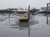 Bild 0 von Juister Bootshafen ist tief wie seit Jahren nicht mehr