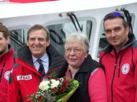 Bild 6 von Nach 24 Jahren wurde wieder ein Rettungsboot auf Juist getauft