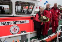 Bild 7 von Nach 24 Jahren wurde wieder ein Rettungsboot auf Juist getauft