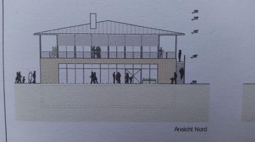 Bild 0 von Lothar Sommer stellte Planung für neue Sturmklause vor