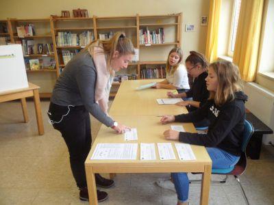 Bild 0 von Juister Schülerinnen und Schüler waren im Wahlfieber