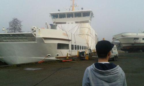 """Bild 0 von """"Frisia II"""" bekommt in Oldersum ein neues Deck"""