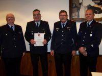 Bild 1 von Ehrungen für 160 Jahre Mitgliedschaft in der Feuerwehr