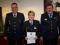 Bild 2 von Ehrungen für 160 Jahre Mitgliedschaft in der Feuerwehr