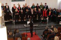Bild 0 von Gemeinsames Gospelkonzert erstmalig mit Bläserunterstützung
