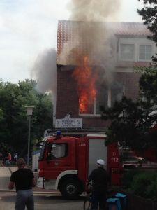 Bild 0 von Statt Papierkorb brannte die ganze Wohnung